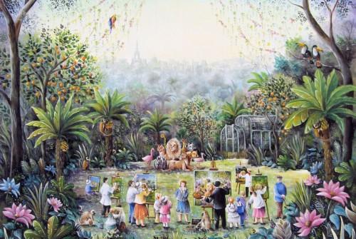 Rousseau au Jardin des Plantes