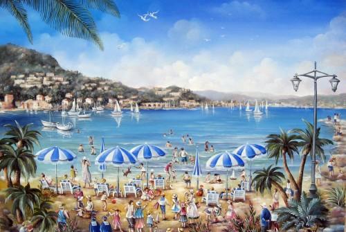 La plage de Théoule