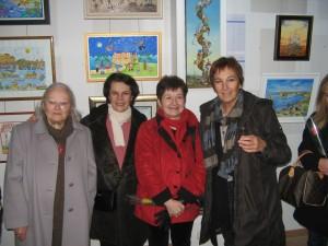 Arlette Martin, Maria Cristina Haize , Monic-Michèle