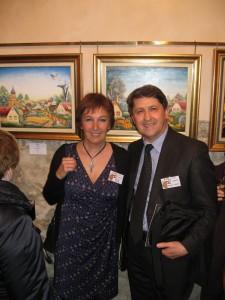 Sylvie avec Drago Terzic