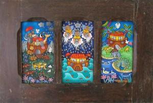Peintures de Maria Cristina Haize
