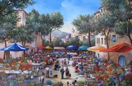 Les couleurs du marché