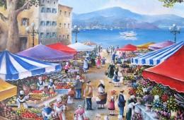 Le marché du port