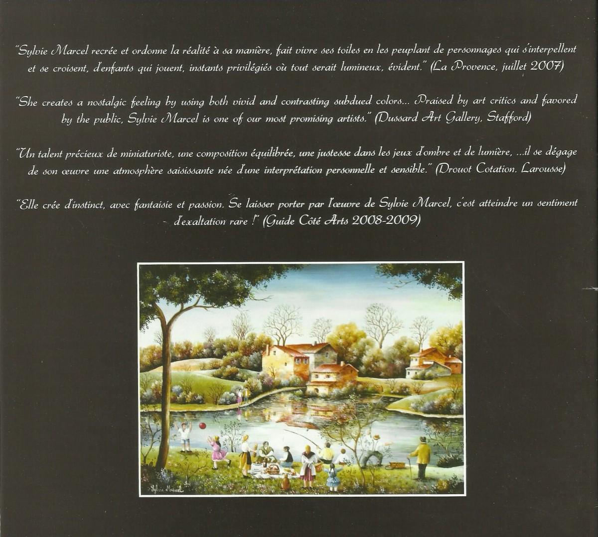 Brochure Sylvie Marcel : On dirait le Sud