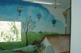 Salle d'attente d'un centre médical