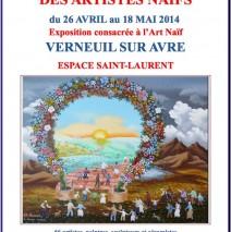 [26/04/2014] Rendez-vous des Artistes Naïfs de Verneuil-sur-Avre